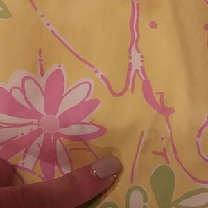 Lilly Pulitzer Dresses - Lilly Pulitzer 4t yellow pink elephant print dress
